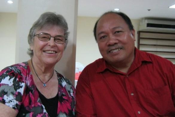 Melo and Joyce Echem