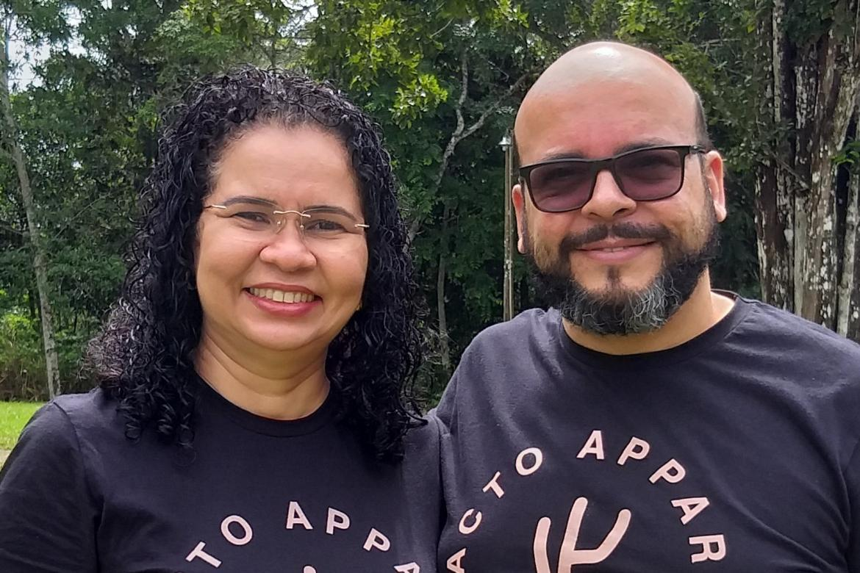 Ivan and Virginia Correa
