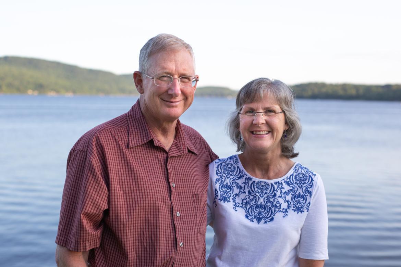 Jim and Julie Harvey
