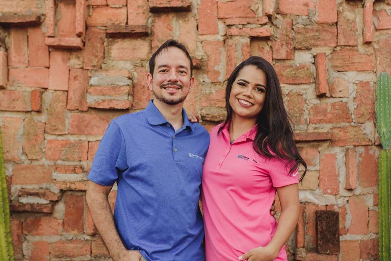Luiz and Libni Andrade