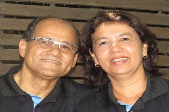 Adérito and Lêda da Silva