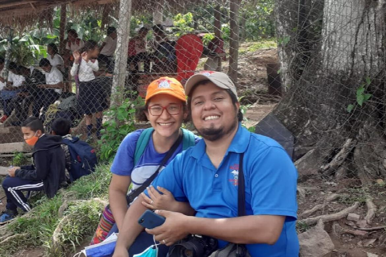 Adolfo and Gabriela Campos Noguera