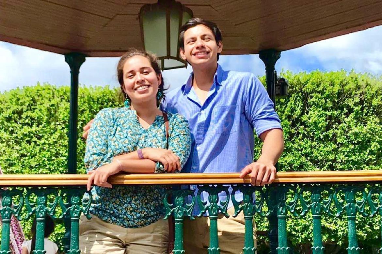Benjamin and Grecia Velasquez Morales