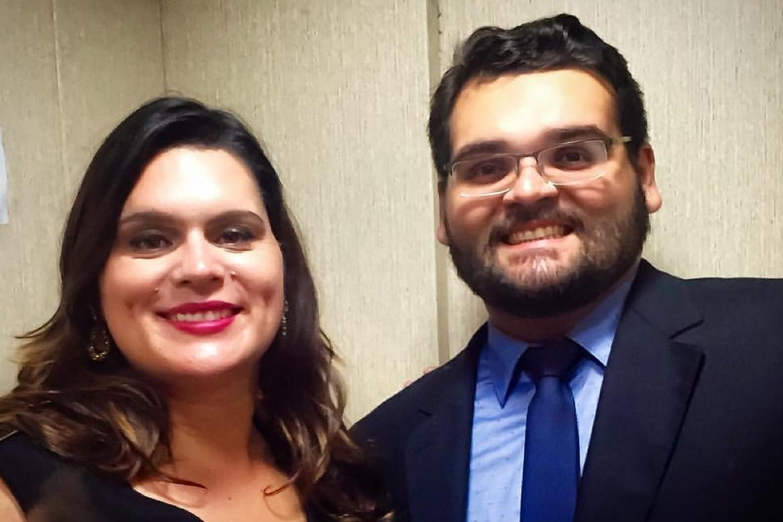 Bernardo and Geisa Linhares