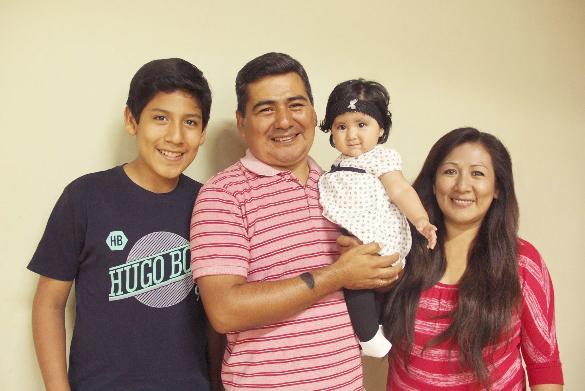 Camilo and Betty Huachos