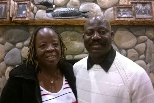 Dave and Lucy Kiamu