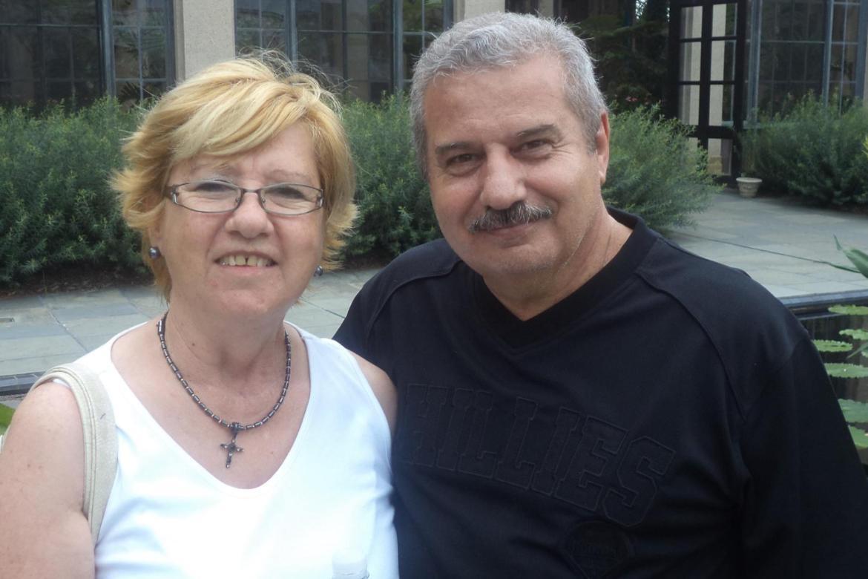 Eduardo and Mary Colombo
