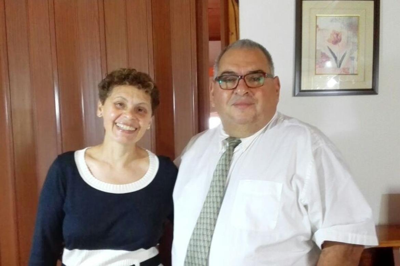 Eduardo and Rosario Delgado