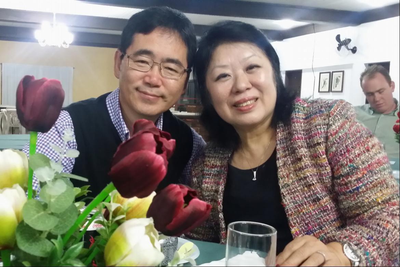 JangHo and Esther Kim