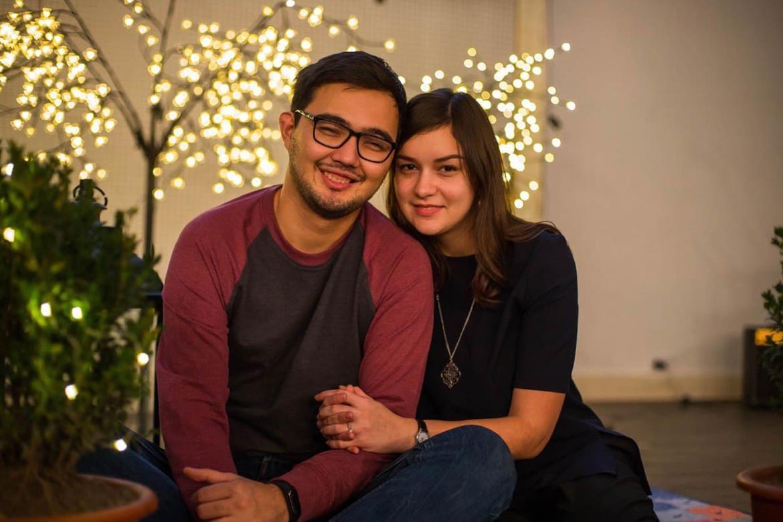 Kuanysh and Oksana Azimkhan
