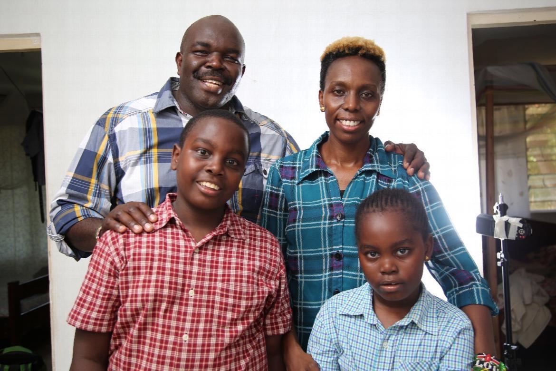 Peter and Juddy Odanga