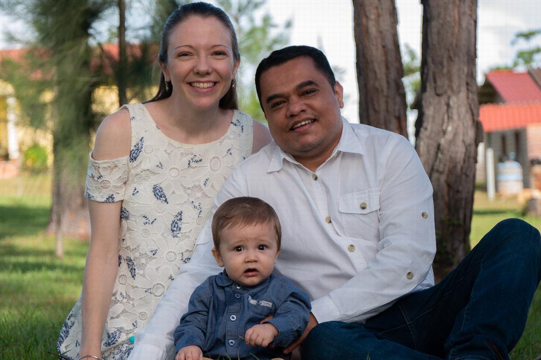 Ronald and Alicia Alvarenga Ocampo