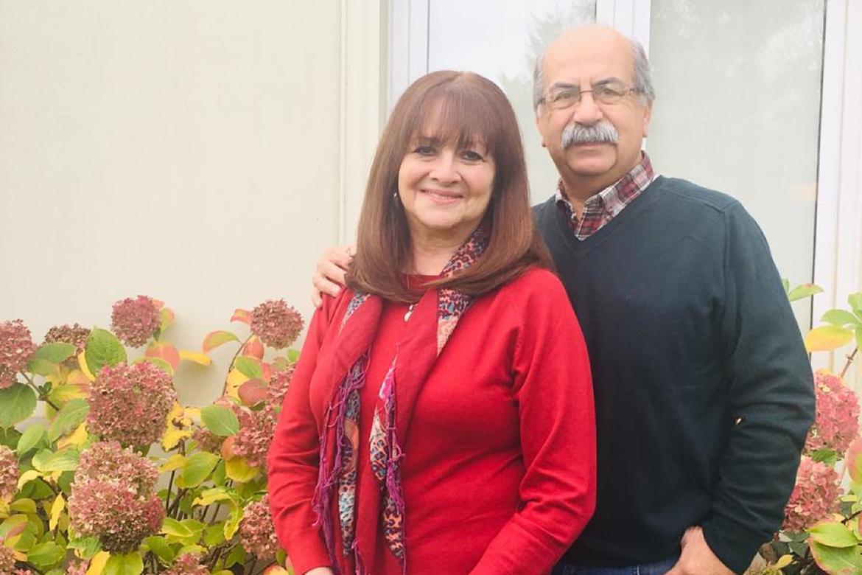 Ricardo and Marcela Fernandez Paz
