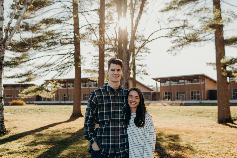 Uriah and Lauren Harvey